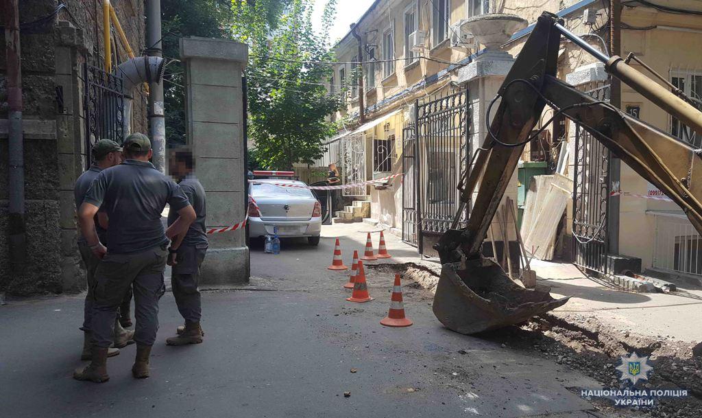 Стрілянина у центрі Одеси