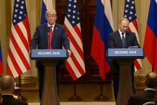 Прес-конференція Трампа та Путіна