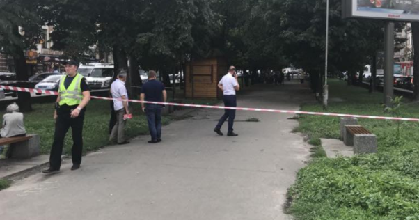 Небезпечна знахідка у центрі Києва