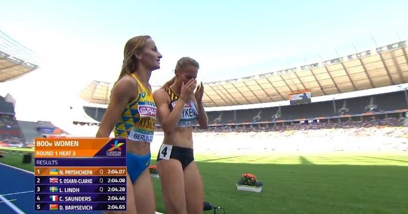 Українка виграла забіг, апотім допомогла фінішувати суперниці, яка впала