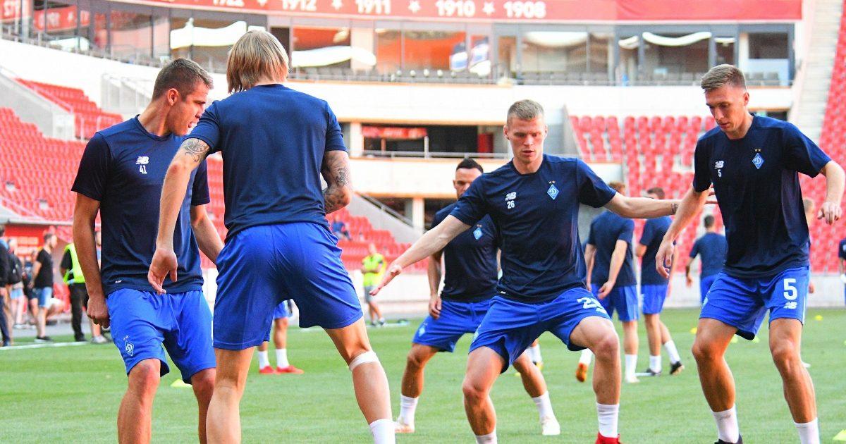 Динамо Київ перед матчем-відповіддю проти Славії мало тиждень відпочинку