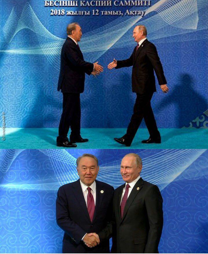Зріст Володимира Путіна