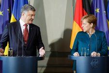 Петро Порошенко та Ангела Меркель
