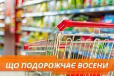 ціни на продукти 2018