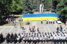 Найбільший прапор України із кульок