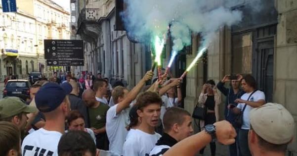 Акція протесту під судом у Львові