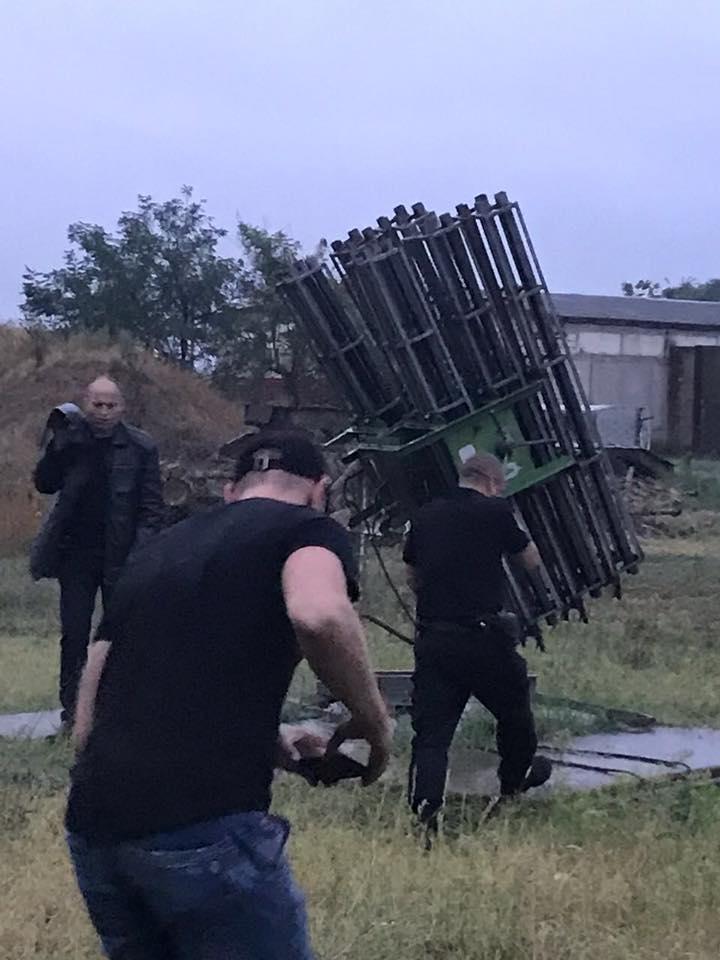 Ракети в одеському гаражі