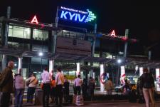 """Аеропорт Жуляни """"заміновано"""":"""