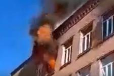 У Хмельницькому горить школа