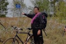 Американець на кордоні України і РФ