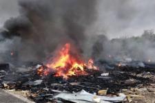 У Миколаєві згоріло звалище побутової техніки