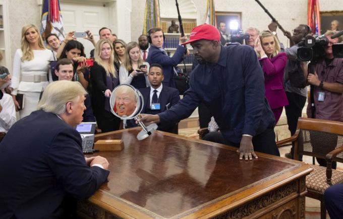 Зустріч Трампа з Вестом