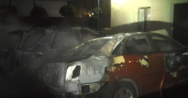 У Харкові згоріли 5 авто