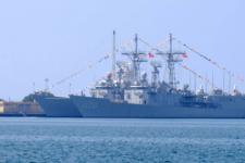 Тайванські фрегати ROCN Yueh Fei (PFG2-1106) та ROCN Tian Dan (PFG2-1110)