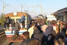 Міська елекричка у Києві