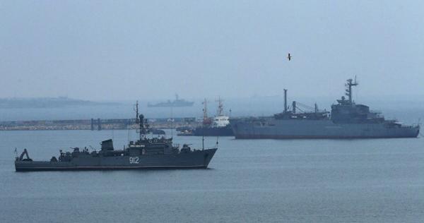 російські кораблі