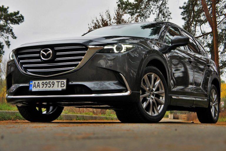 Тест-драйв Mazda CX-9: японський експрес