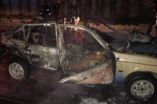 Авто після пожежі
