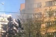 У Києві горить гуртожиток