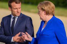 Меркель Макрон