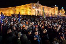 Революция достоинства: Евромайдан, день первый