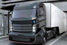 Електрична вантажівка концепт