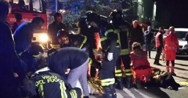 В Італії через тисняву у нічному клубі загинуло багато людей