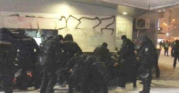 27 осіб затримали біля стадіону перед матчем Шахтаря
