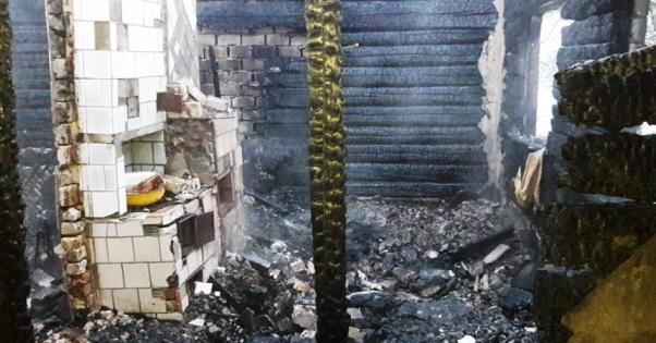 На Житомирщині у пожежі загинула сім'я