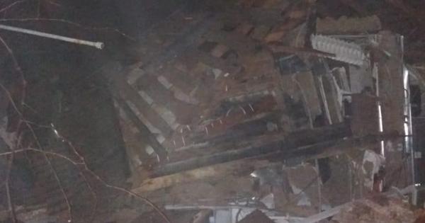 На Харківщині вибухнув будинок, є постраждалі