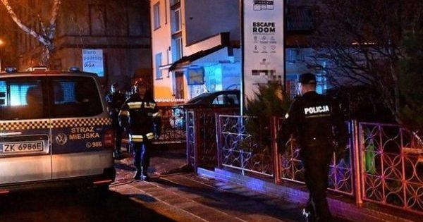П'ять дітей загинули через пожежу у квест-кімнаті в Польщі