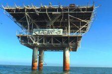 Единственная в Украине! Как работает морская платформа по добыче газа в Азовском море