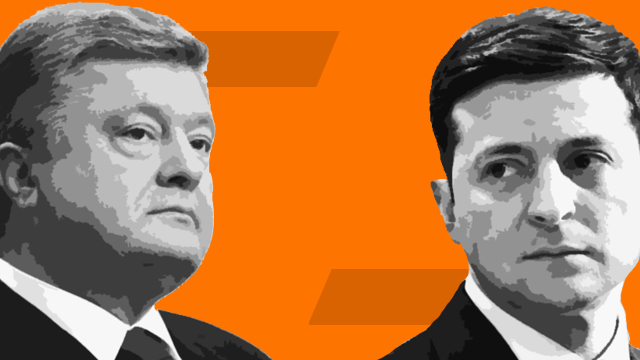 Дебати на Олімпійському: Петро Порошенко та Володимир Зеленський