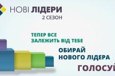 Нові лідери: стартувало голосування за учасників другого сезону