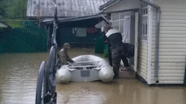 Потоп на Прикарпатті