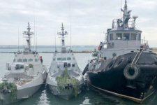 Россия отдаст украинские корабли 18 ноября – ФСБ
