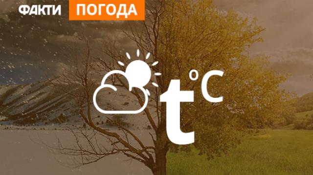 Погода в Украине на 21 октября (КАРТА)
