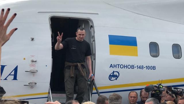 Олег Сенцов в Украине