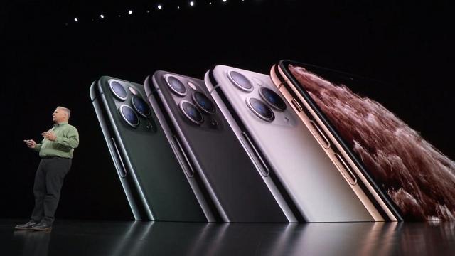 Apple представила iPhone 11 Pro с тройной камерой