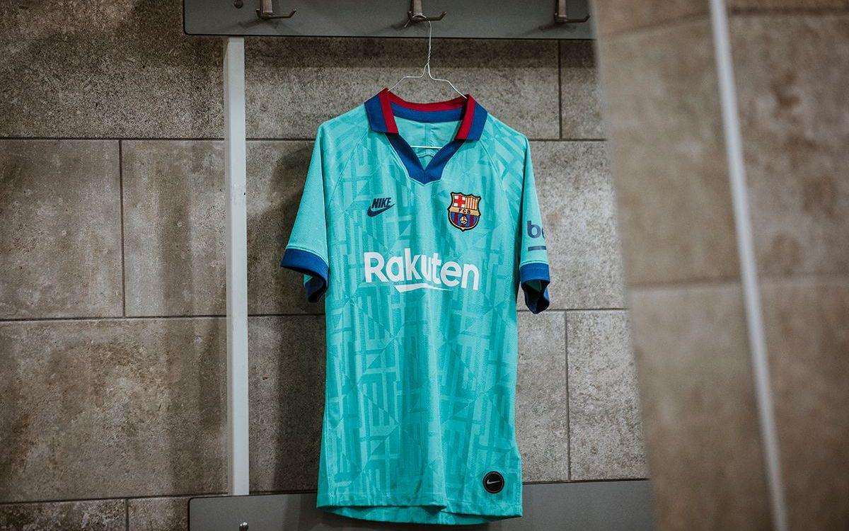 Форма Барселоны третий комплект