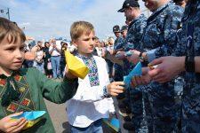 Освобожденные из плена моряки вернулись в Одессу