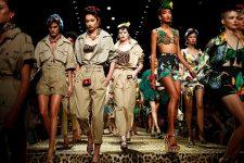 Зебры и фрукты. Экзотическая коллекция Dolce&Gabbana на Неделе моды в Милане