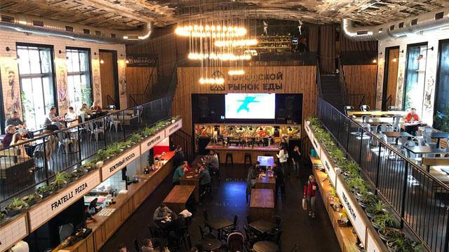 Міський ринок їжі в Одесі: танці, їжа та напої – Ситий в7