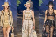 Белла и Джиджи Хадид: ассиметричная коллекция Lanvin весна-лето 2020
