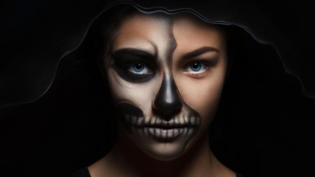 Легкий макіяж на Хеловін 2020