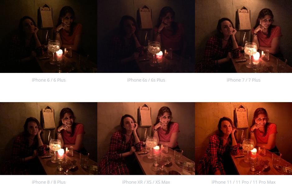 Порівняння камер iPhone
