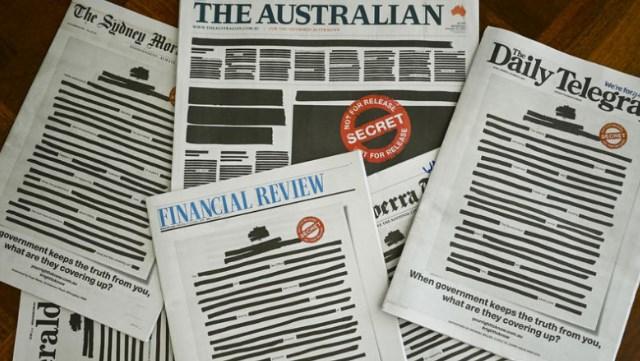 В Австралії журналісти протестують проти цензури