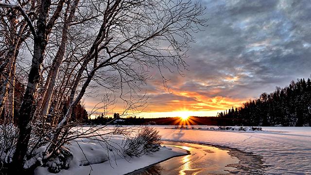 Сонце і сильні морози: погода в Україні на 14 лютого (КАРТА)