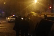 У Миколаєві автомобіль патрульних влетів у мікроавтобус