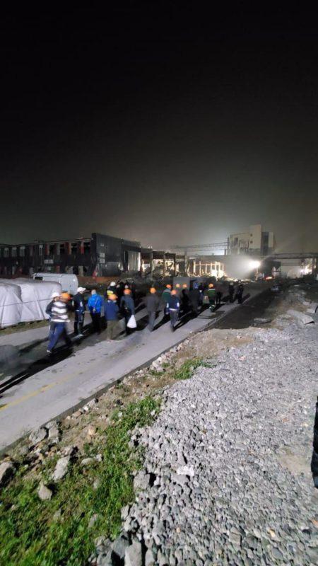 Вибух та пожежа на заводі в Дніпрі: